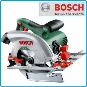 Циркуляр, ръчен, 1200W, PKS 55, Bosch