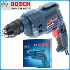 Бормашина, 600W, GBM 10 RE, Professional, Bosch