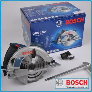 Ръчен Циркуляр, GKS190, Professional, Bosch