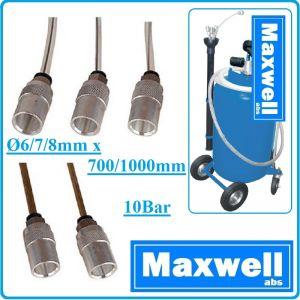 Сонди за масло, щеки за шприц, с конектори, к-т, Ø6-8mm, 0.7-1m, Maxwell