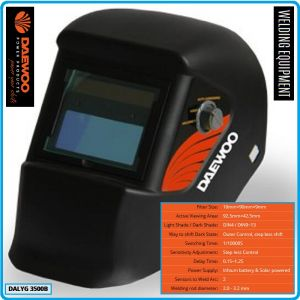 Шлем заваръчен, фотосоларен автоматичен, DIN4-13, Daewoo, 3500B