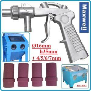 Пистолет за пясъкоструене, за бластираща камера, к-т, 4-7mm, Maxwell, 0703S