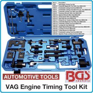 Фиксатори к-т за регулиране на двигатели на VW-Audi-Seat-Skoda, BGS, 8155
