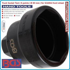Вложка ОСМОСТЕН 80mm, за SCANIA и VOLVO, за ключ 41mm, BGS, 5413