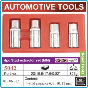 """Екстрактори за шпилки к-т 4ч, 6-12mm, вложки шпилковадачи 1/2"""", Force, 5042"""