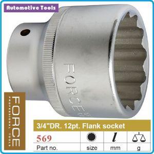 """Вложка къса, 3/4"""", дванадесетограм на 20mm, от 19-65mm, Force, 569-19/65"""