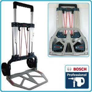 Количка за куфари, L-Boxx, сгъваема, усилена, до 125kg, Bosch, T125