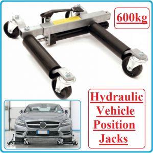 Крик / количка за позициониране, 600kg / 300-650mm, Maxwell, TRA9012L