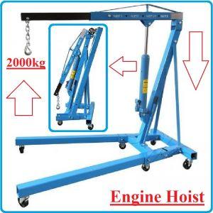 Кран за двигатели, крик жираф, 2000kg, 2300mm, Maxwell, 32002B