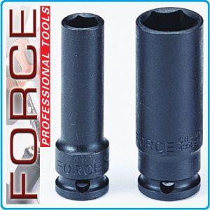 """Вложка ударна дълга, усилена, 12.5mm, 19 размера, 10-36mm, 1/2"""", Force"""