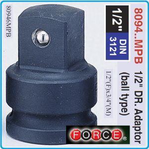"""Адаптор със сачма ударен, Преход усилен, 1/2""""(F)x3/4""""(M), Force, 80946MPB"""