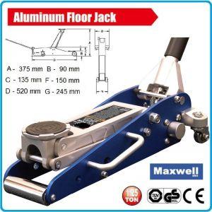 Крик, нископрофилен, крокодил, алуминиев, 1250kg, 375mm, Maxwell, T815012