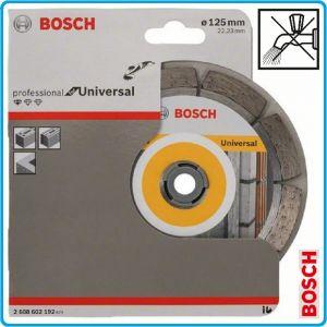 Диск, диамантен, за рязане, неметал, 125x1.6mm, Universal, Bosch