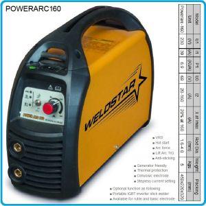Инвертор, апарат заваръчен, 160A, 1.6-4.0mm, WELDSTAR, ARC160