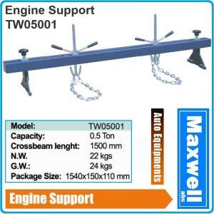 Стойка, греда, за двигатели, стенд за позициониране, 0.5t, 1540mm, Maxwell, TW05001