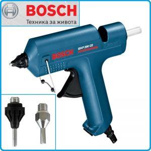 Пистолет за лепене, 500W, GKP200CE, Professional, Bosch